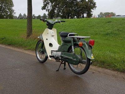 Honda C70 K1 Japans, groen, 8332km