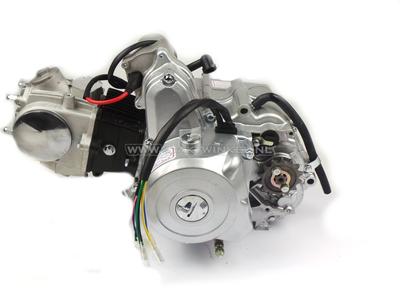 Motorblok,  50cc, handkoppeling, startmotor boven