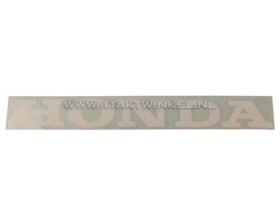 Sticker Honda universeel 22cm wit