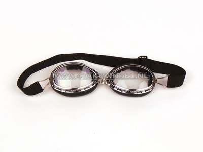 Helm bril zwart, MKX