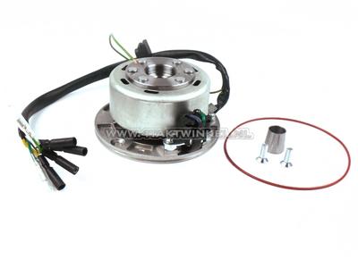 CDI ontsteking set 6v tap, SS50, CD50, C50 Dax, licht vliegwiel