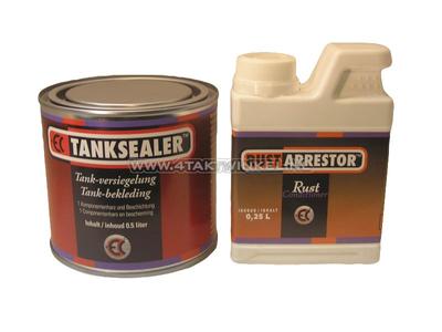 Tank sealer / coating, set
