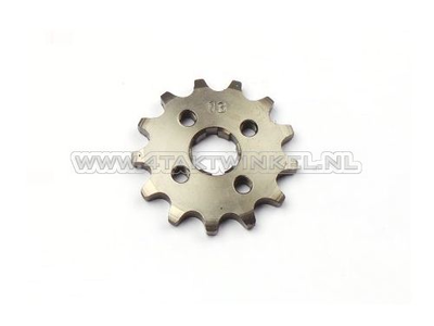 Front sprocket, 420 chain, 17mm axle, 13, SS50, C50, Dax