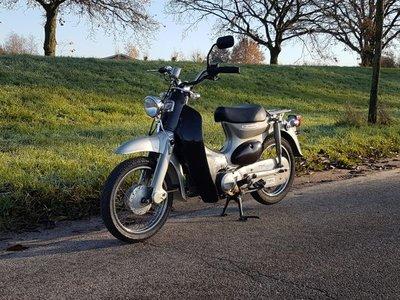 Opslag, Honda Little cub, custom, 12681km, met Kenteken