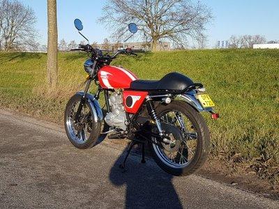 Mash Fifty, 50cc, rood, 3726km