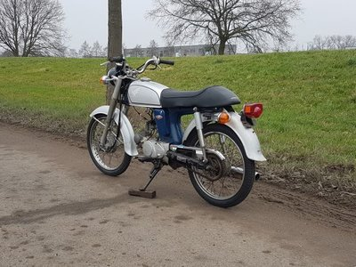 Honda CD50s benly Japanese, 15868 km, with papers!