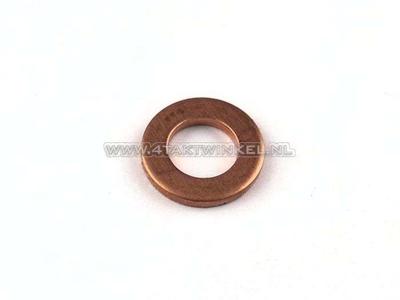 Ring  6mm, koper