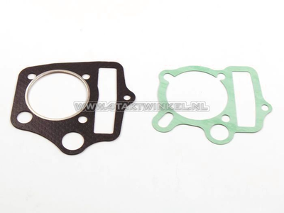 Pakkingset A, kop & cilinder, basis setje: voet & kop, 53mm 85cc, 110cc