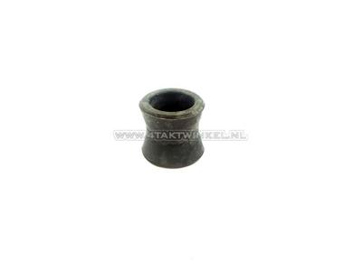 Schokbreker oog rubber 14-20 SS50, CD50, onder, origineel Honda