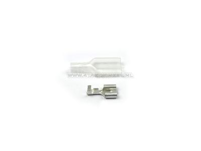 Connector Japanese bullet female 2-fold  sleeve