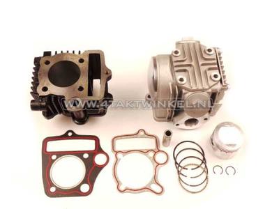 Cilinderset, met zuiger & pakking & cilinderkop 70cc, AGM, Skyteam, Honda NT