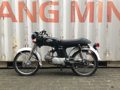 Honda CD50s benly Japans, 15868 km