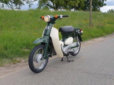 Honda Little cub, Japans, Groen,  7732km