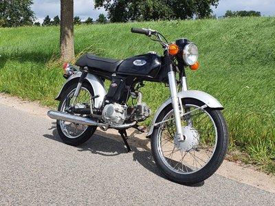 Honda CD50s benly Japans, Zwart, 22487 km
