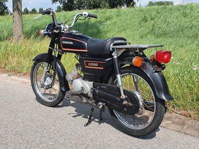 GERESERVEERD ! Honda CD50 benly Japans, Zwart, 35986 km