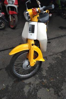 Honda C50 NT Japans, groen, 1586 km