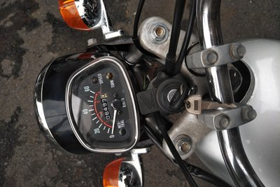 GERESERVEERD! Honda CL50, Japans, 6493 km