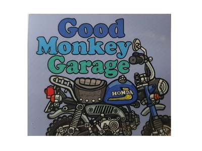 Good Monkey Garage Sticker # 2