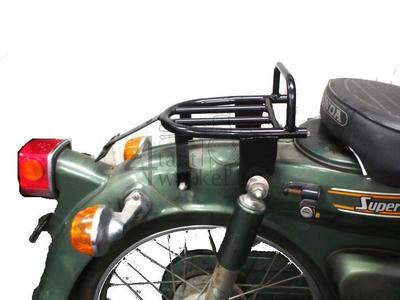 Rack C50 rear, NT & K1, streetcub, black