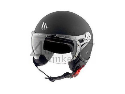 Helmet MT, Le Mans Soul Retro, black, Sizes S to XXL