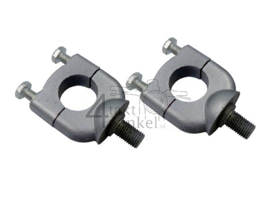 Handlebar clamp set, SS50, CD50, CB50, aftermarket
