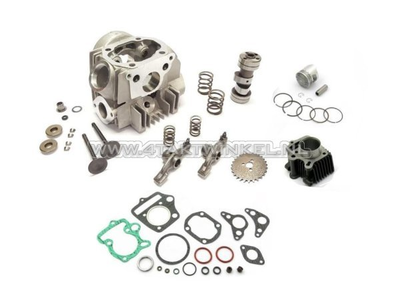 Cylinder kit, with piston & gasket & cylinder head 70cc, Honda OT