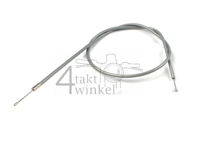 Throttle cable, C50 OT, with downdraft carburettor, aftermarket, gray
