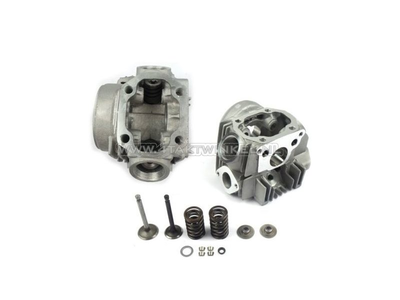Cylinder head 70cc OT 47mm, mounted valves, aftermarket