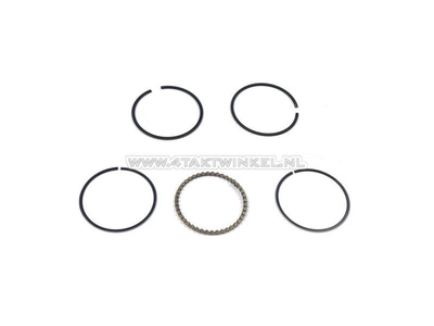 Piston rings 50cc GK4, 39.00 standard, aftermarket