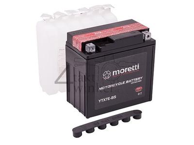 Battery 12 volt 7 ampere AGM, MTX7E-BS, e.g. Mash Fifty