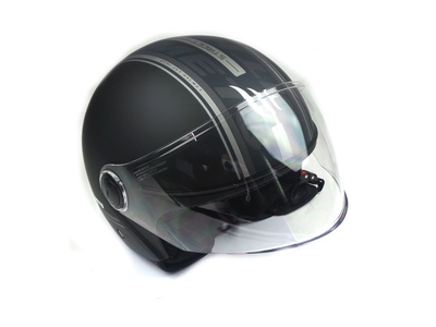 Helmet MT, Street, Matt Black, Sizes S to XL