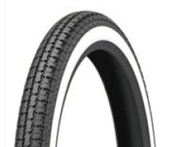 Tire 19 inch, Kenda, White-Wall 2.50