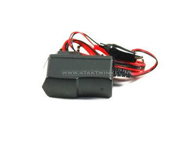 Battery charger, 12 volts