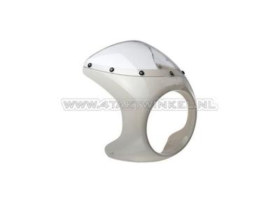 Headlight fairing mounting set, Mash, white