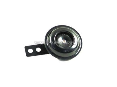 12 volt horn, universal bracket, black