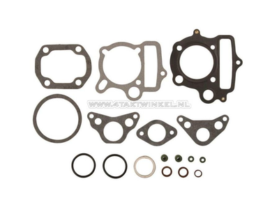 Gasket set A, head & cylinder, C50, SS50, Dax, 47mm, 70cc, R-design
