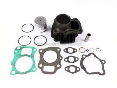 Cylinder kit, with piston & gasket 50cc, PC50, Novio, Amigo