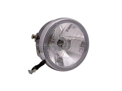 Headlight complete, universal, 15cm