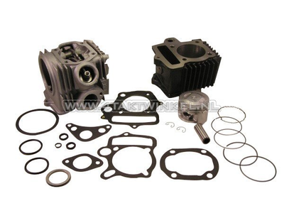 Cylinder kit, with piston & gasket & cylinder head 70cc, Honda NT, AGM, Hanway, Skyteam, etc. 49cc print
