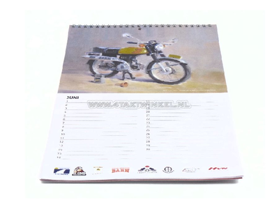 Honda birthday calendar
