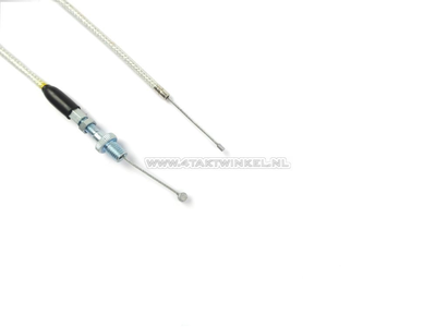Throttle cable, Dax kepspeed, without bend, steel