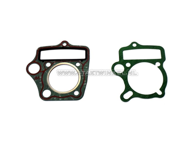 Gasket set A, head & cylinder, basic set: foot & head, 70cc
