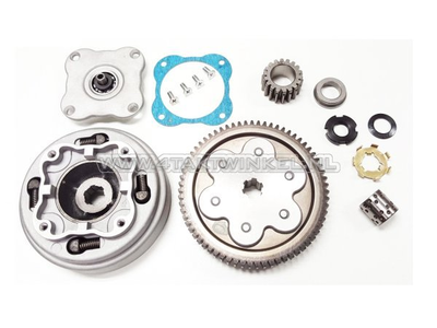Clutch, 2-plate, set, complete