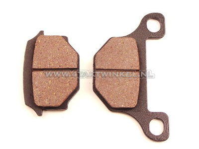 Brake pads, Mash Fifty, AGM cafe racer, aftermarket