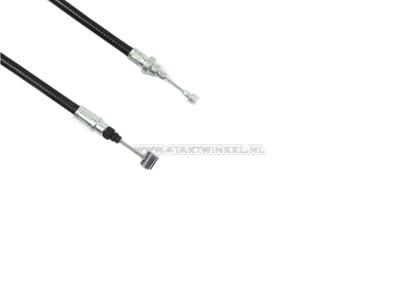 Clutch cable, Benly, CD50s, 87cm, black, original Honda