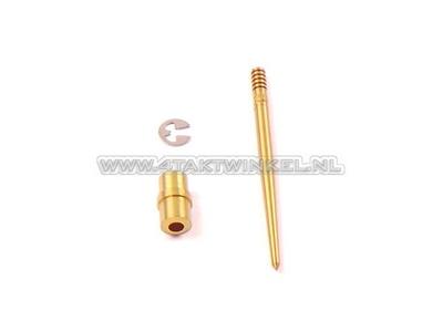 Jet needle set SS50 clamp box, NOS, original Honda, NOS