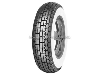 Tire 8 inch, Mitas B13, whitewall, 3.50