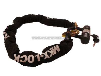 Chain lock, MKX, 120cm, with ring ART 4