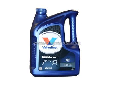 Oil Valvoline 10w-40 semi-synthetic, 4-stroke, 4 liters