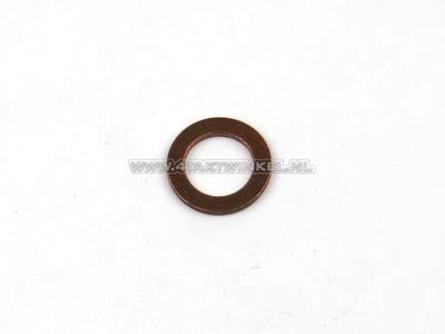 Ring 6mm, copper, original Honda